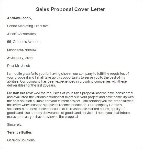 Sample Of Cover Letter For Book Proposal | Cover Letter
