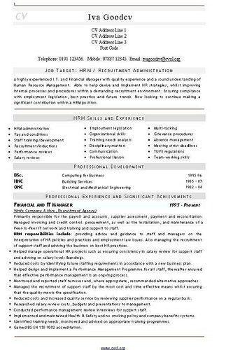 Recruitment Consultant Resume Recruitment Consultant Resume samples - recruitment consultant resume
