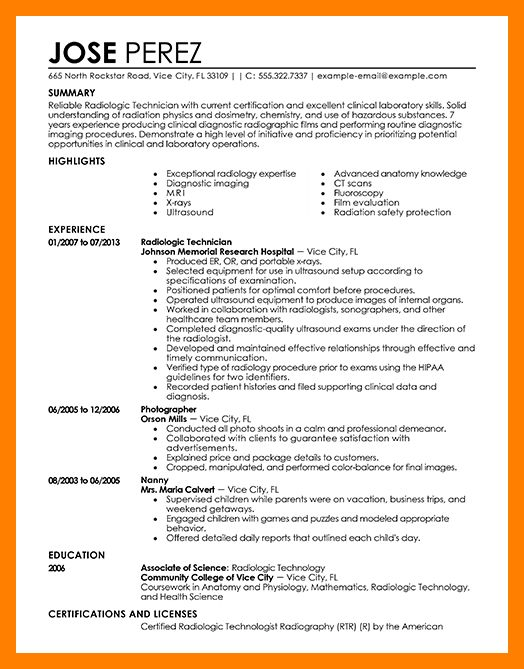 radiography resume click here to download this radiologic