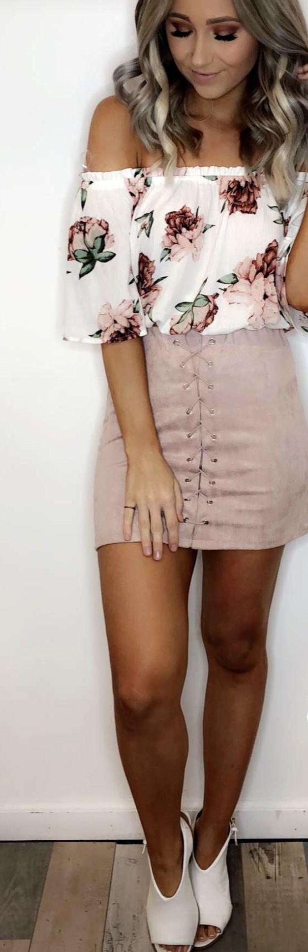 Nicht ein Fan des Rocks an mir, aber dieses Outfit ist wundersch?n!   #outfit