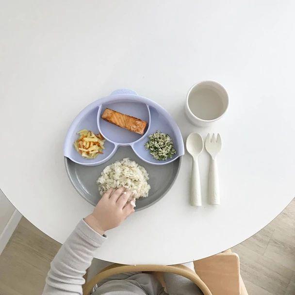 Bamboo Smart Plate Divider Set - Lavender/Nordic – bitte
