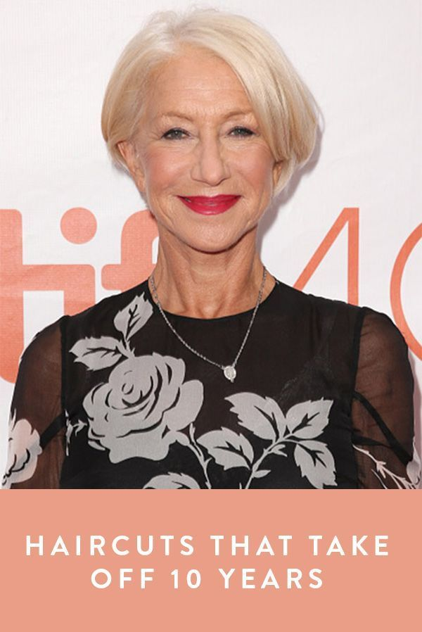 8 Haircuts That Take Off 10 Years #purewow #beauty #age