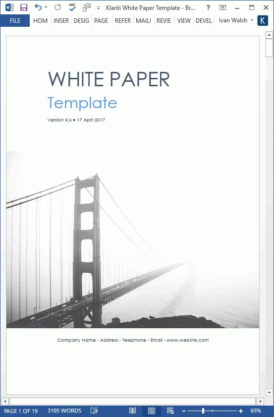 Microsoft White Paper Template White Paper Format Action Research - white paper templates