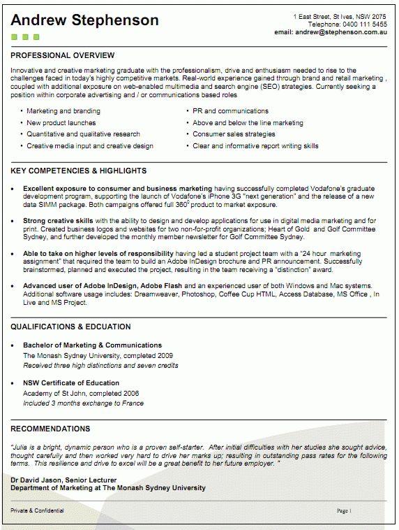 Australian Resume Examples Kava In Australia Australian Resume