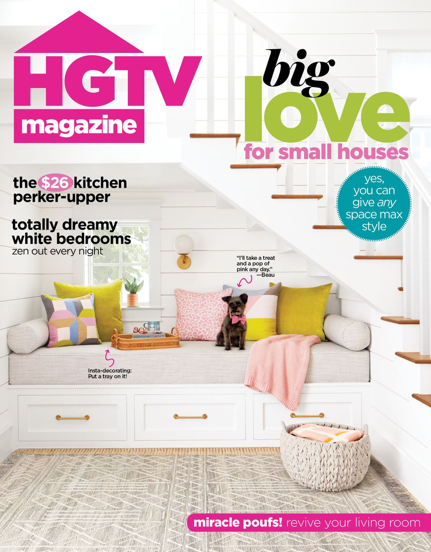 HGTV Magazine March 2020