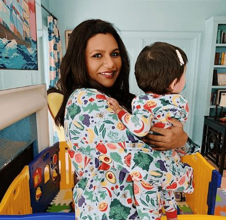 Mindy Kaling Shares Photo Of Her Adorable Daughter