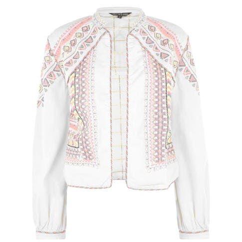 Biba - Biba Neon Embroidered Jacket