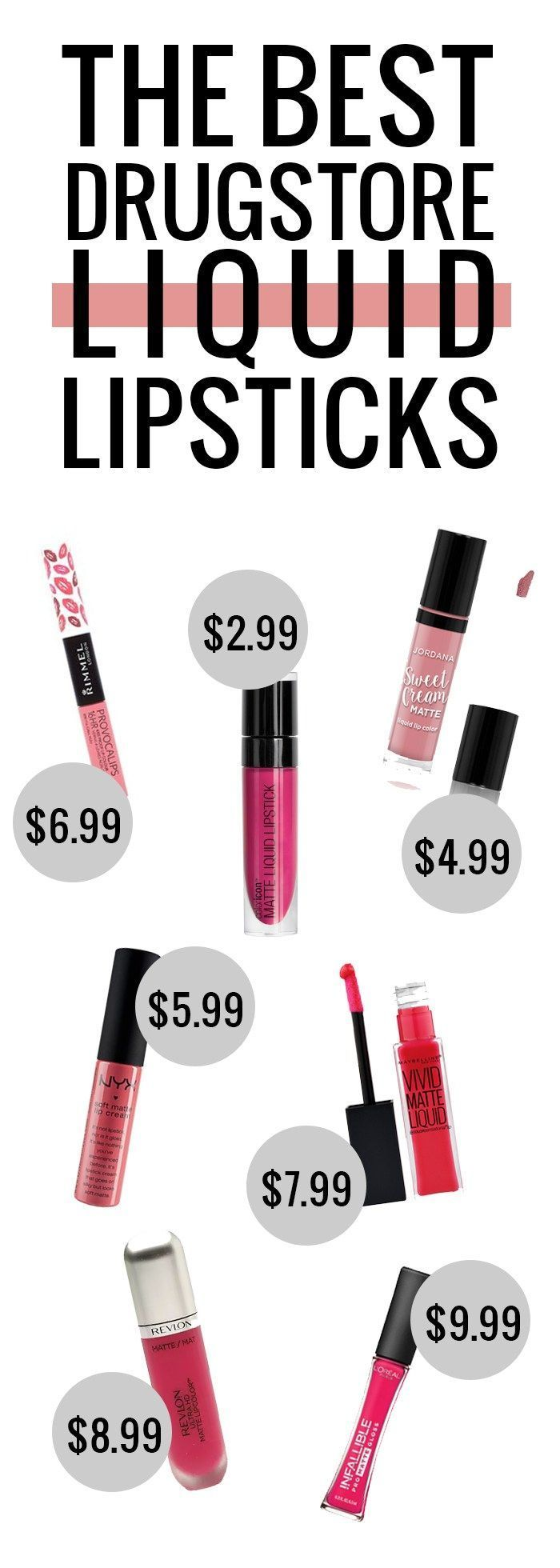 The Best Drugstore Liquid Lipsticks