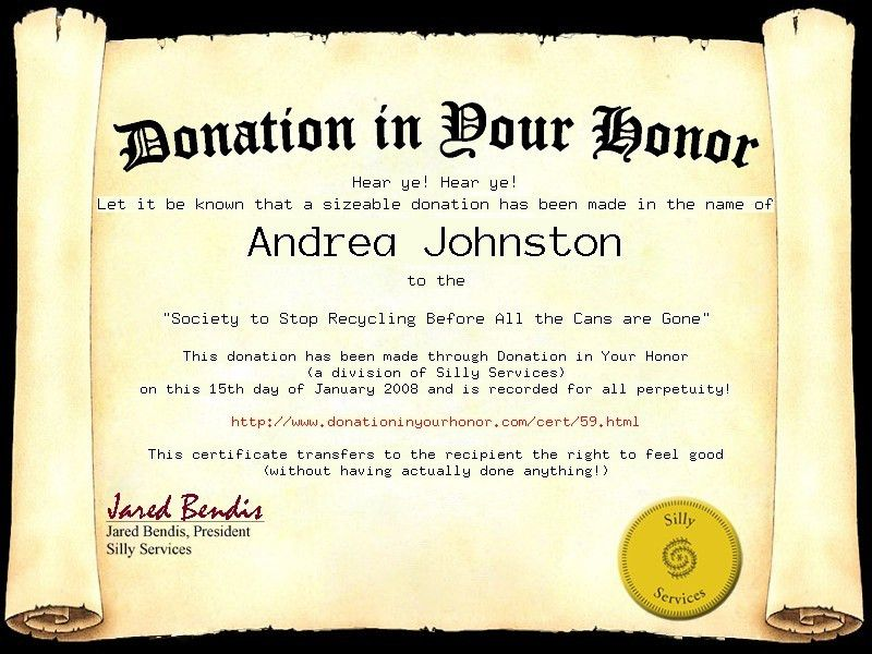 Donation Certificate Template 7 Printable Donation Certificates - donation certificate template