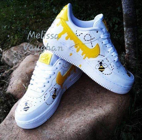 Custom Honeybee Nike Air Force 1