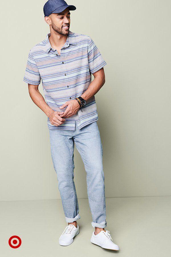 Longer days mean shorter sleeves. Find new shirt styles, lightweight denim & more spring basics, priced right.