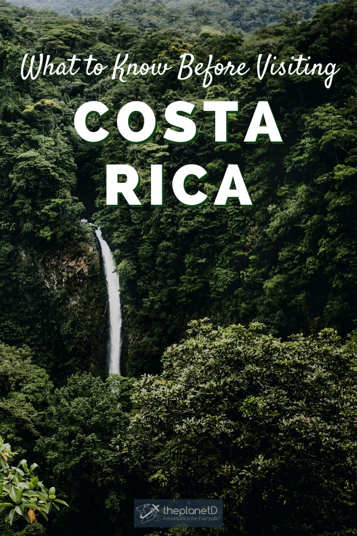 9 Interesting Facts About Costa Rica | The Planet D