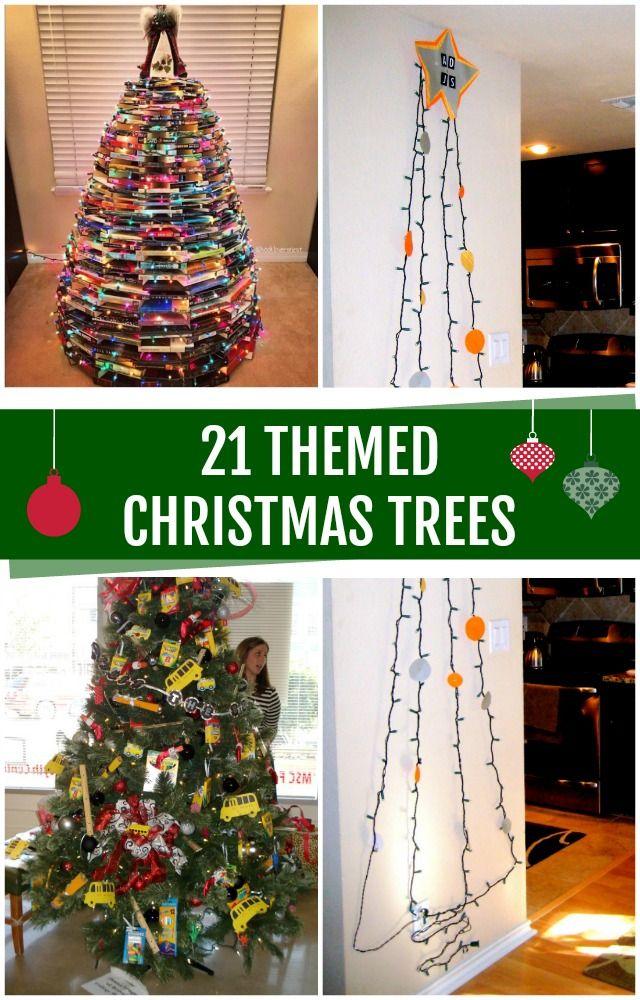 21 Super fun Christmas tree ideas – C.R.A.F.T. #ChristmasTrees