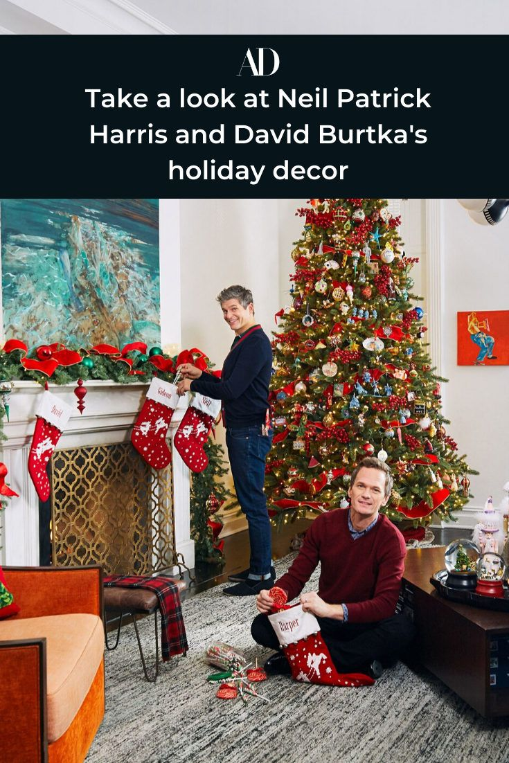 Take a look at Neil Patrick Harris and David Burtka's holiday decor