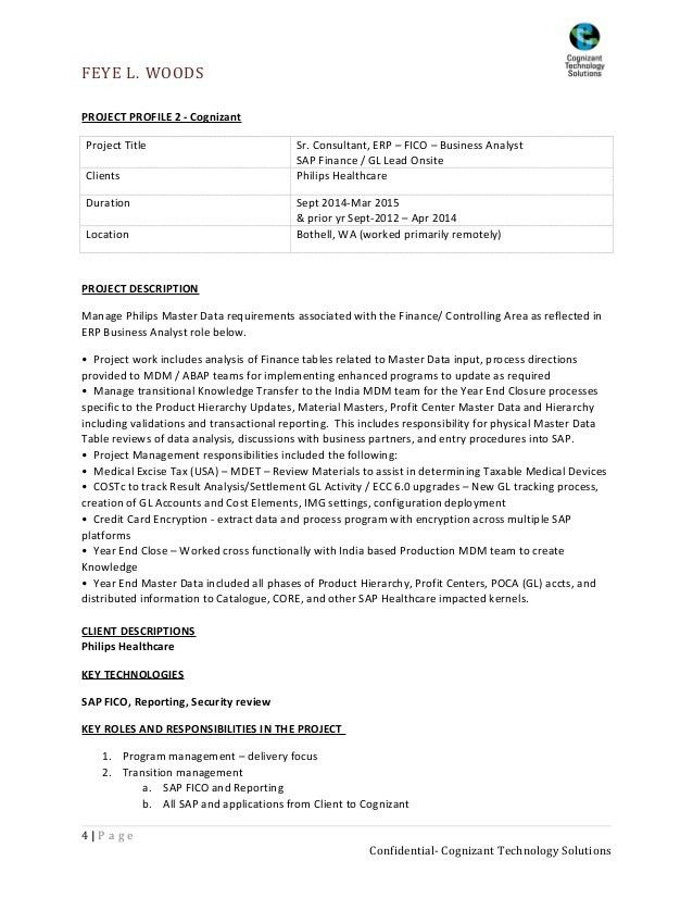 sap trainer cover letter