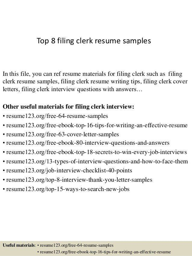 clerical resume templates | resume-template.paasprovider.com