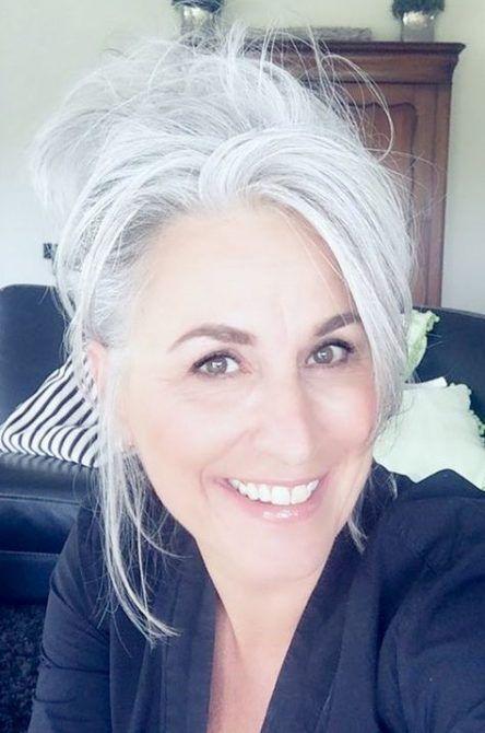 34 Ideas For Hair White Gray Dyes #hair