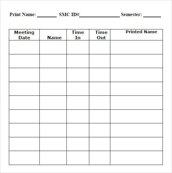 Printable Employee Time Sheet madebyrichard