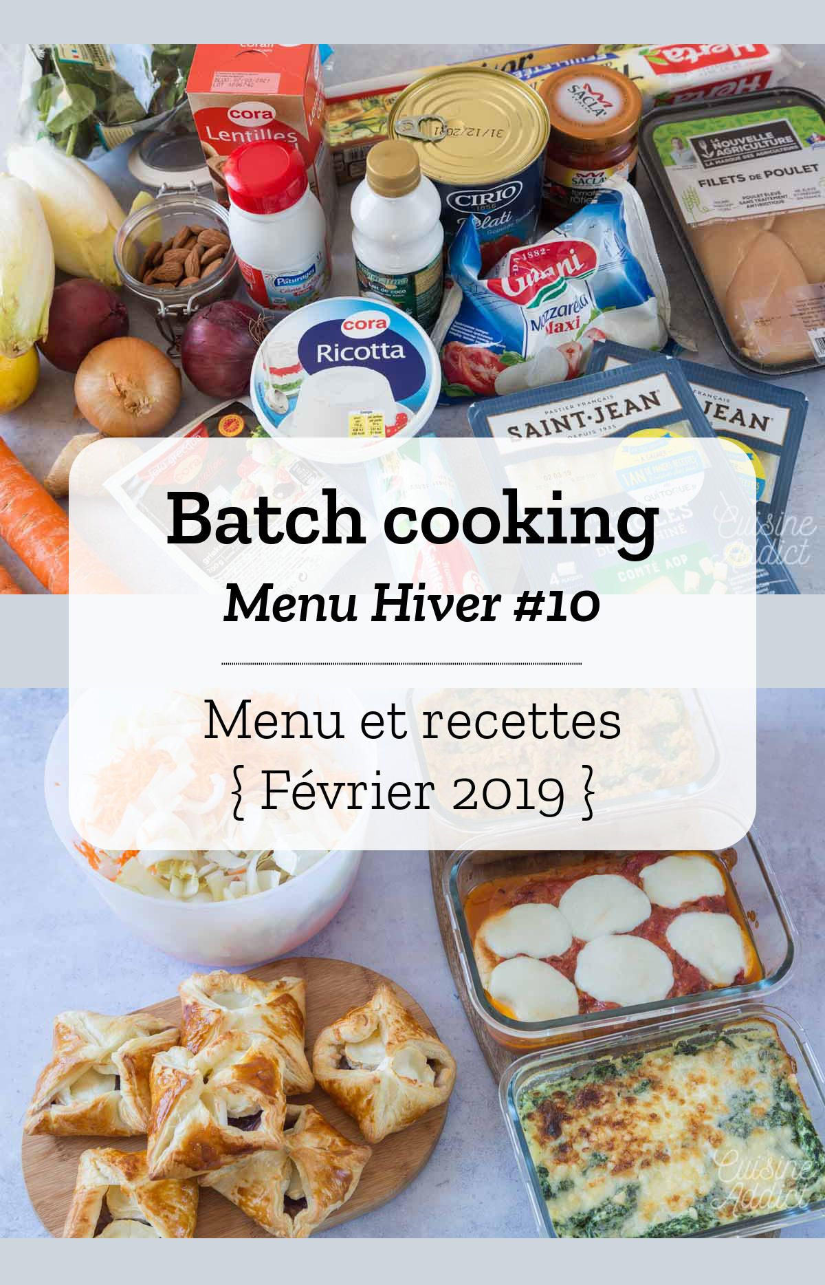 Batch cooking Hiver #10