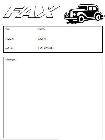 Fax Templates Free Free Fax Cover Sheet Template Printable Fax - sample cute fax cover sheet