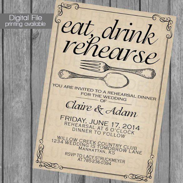 Dinner Party Invitation Templates Free Dinner Party Invitations - dinner invitation template free