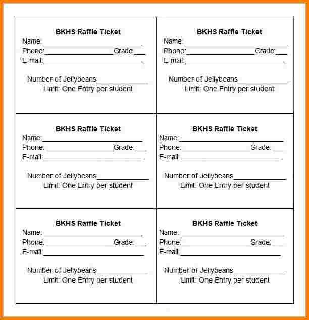 Admission Ticket Template Word Admission Ticket Template Word - numbered tickets template