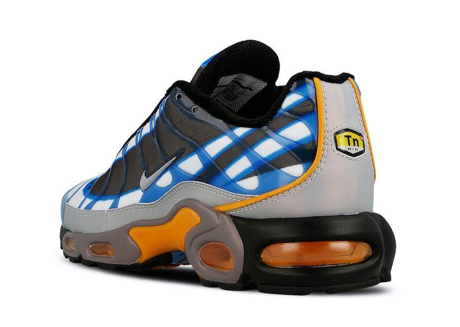 Buy Cheap 2016 Men's Nike Air Max TN Shoes Blue Glow/Fluorescent Yellow Sale Clearance Online. #AirMaxTN #NikeAirMaxTN
