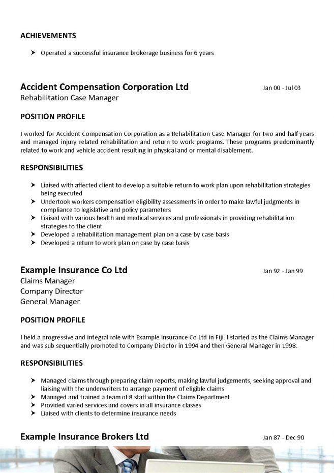 job description for insurance agent
