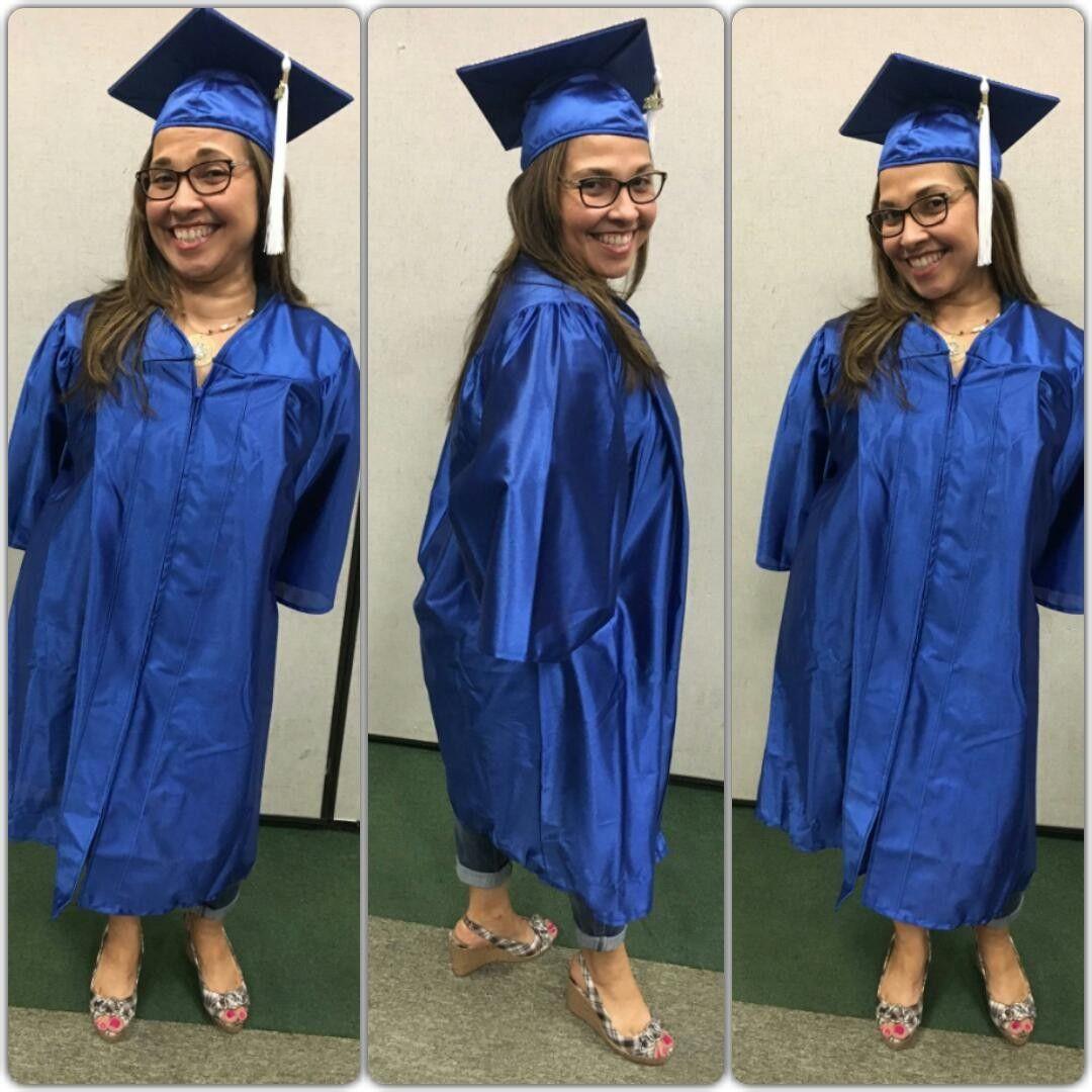 My Graduation Academic dress, My career, Nursing school