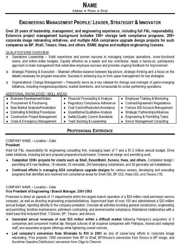 resume samples monster