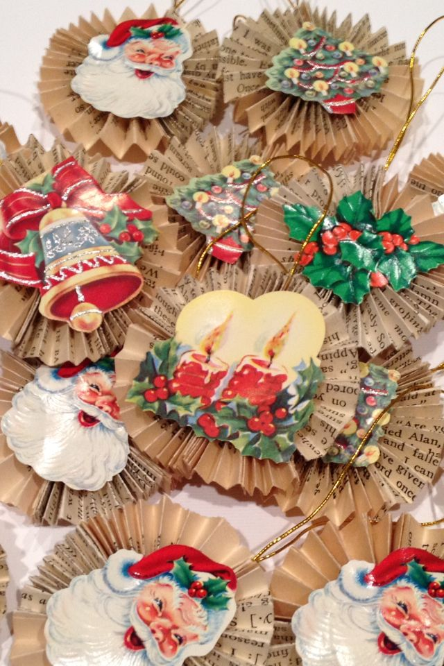 Superb Vintage Christmas Craft Ideas Part - 5: Sheet Music Christmas Ornaments   Sheet Music Ornaments, Vintage Sheet  Music And Graphics Fairy