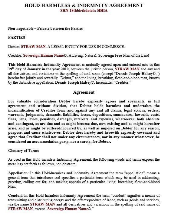 indemnity agreement template | node2002-cvresume.paasprovider.com