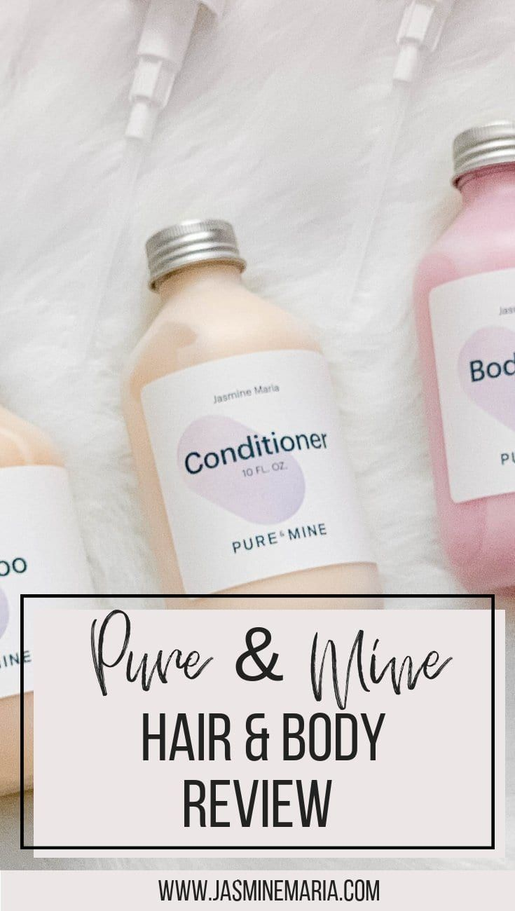 Pure & Mine Review – Jasmine Maria #pureandmine #naturalhairproducts #naturalhaircare #naturalbodycare #naturalproducts