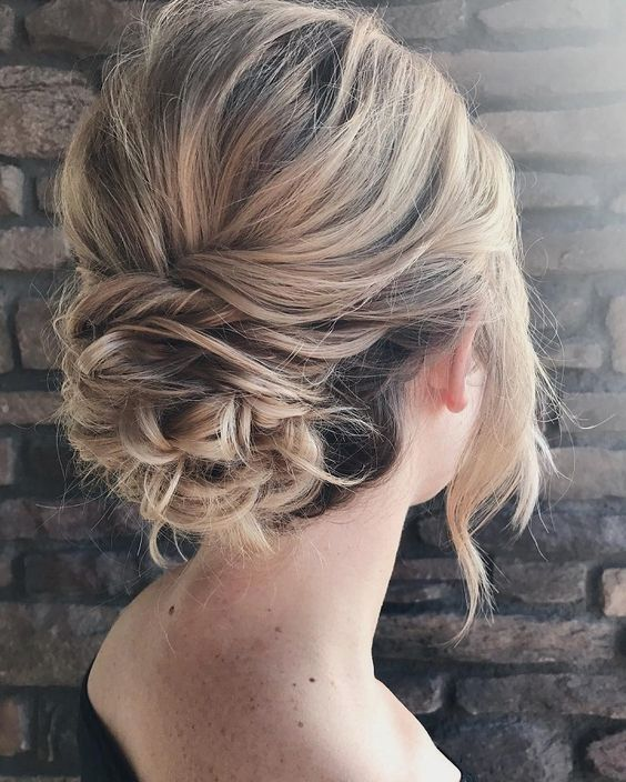 Bridesmaid Hair Fringe