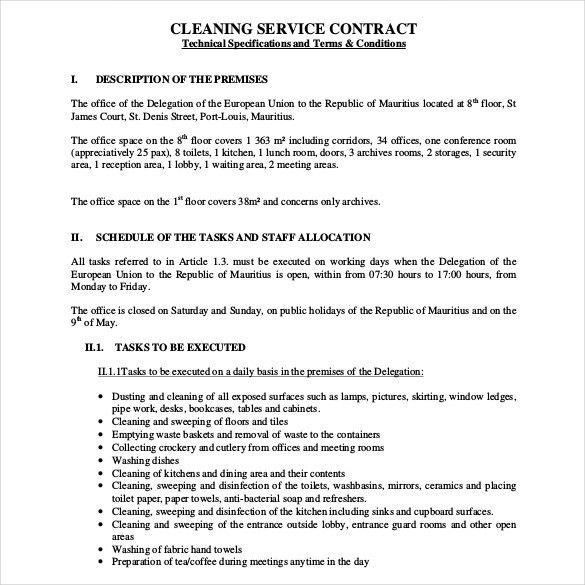 Service Contract Proposal Template Service Proposal Letter - proposal contract template