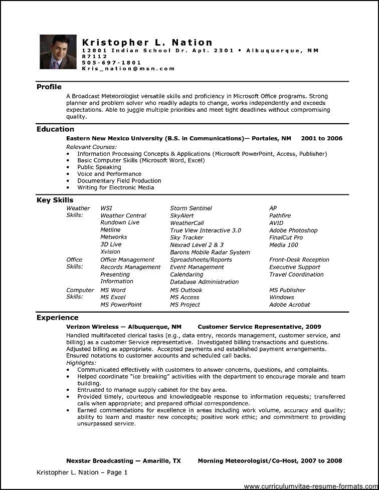 office administrator resume