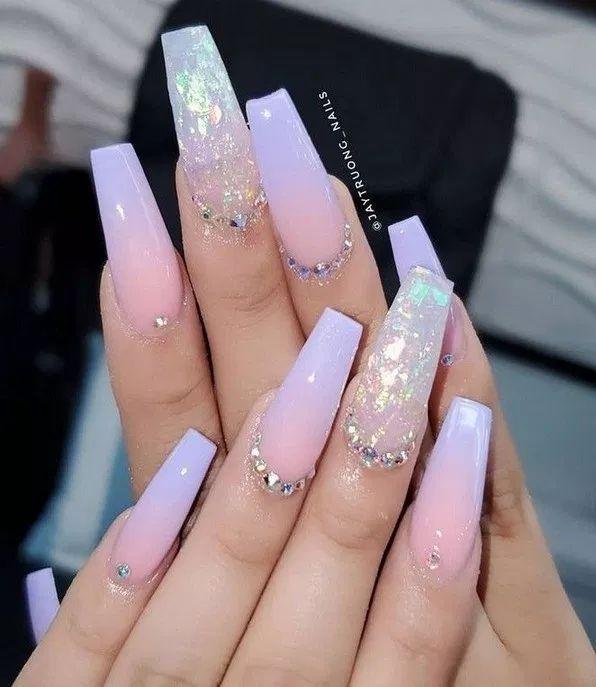Trendy summer nails art dеѕіgnѕ idеаѕ to lооk charming page- 14 | lifestylesinspiration.com