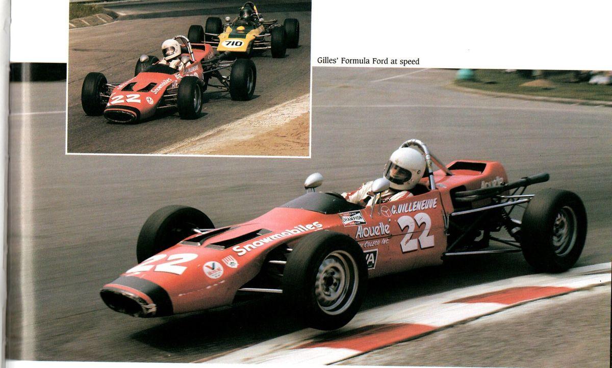 """From """"Villeneuve a racing legend by Allan de la Plante"""