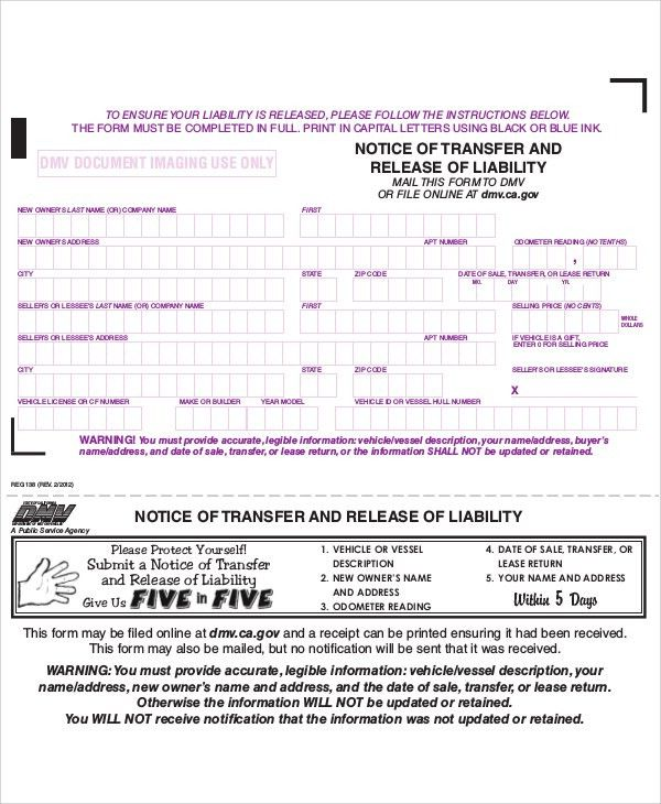 Sample Free Release Of Liability Form   9+ Examples In Word, PDF  Free Release Of Liability Form