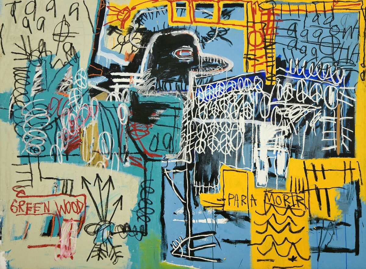 Bird On Money 1981 Jean Michel Basquiat Arte Americana Arte