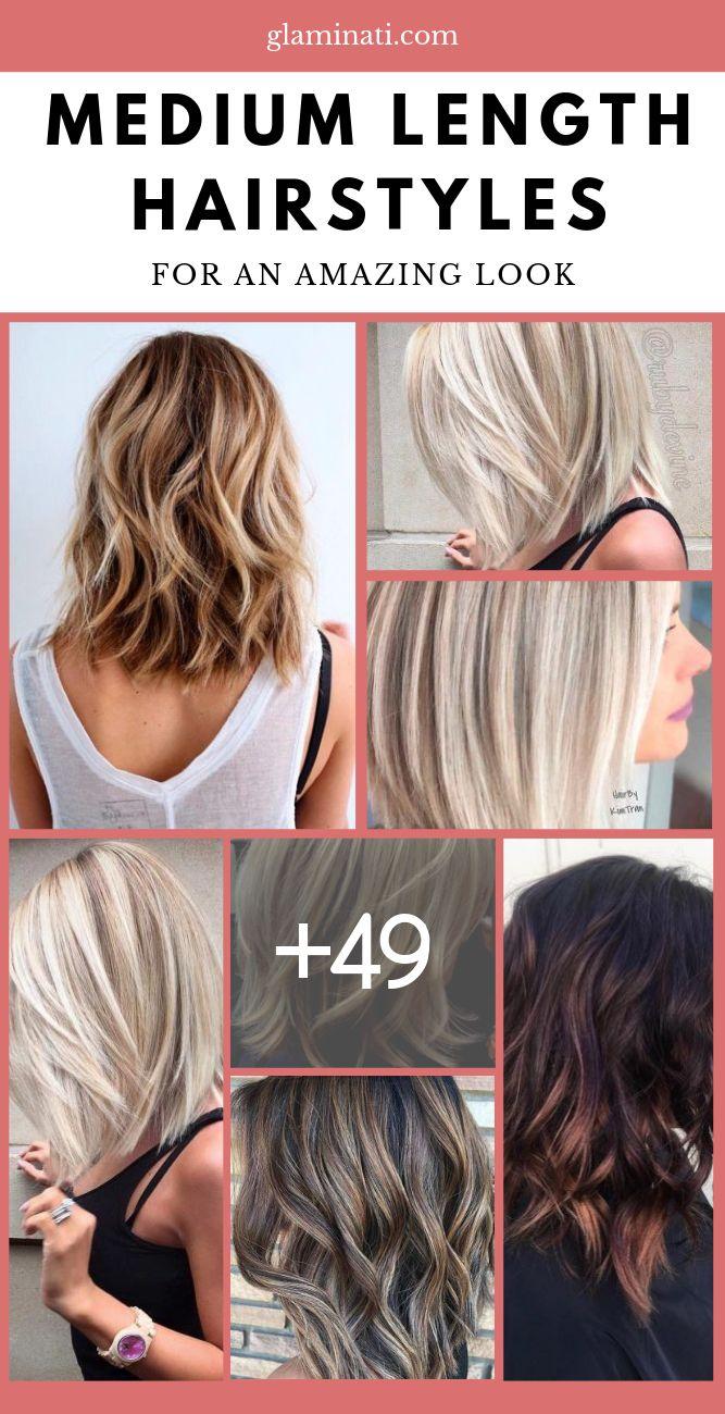 Medium Legnth Hairstyles For Any Taste #mediumhair #mediumlengthhair #shoulderlengthhair #mediumhaircuts #glaminati