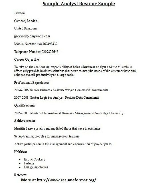 Different Types Of Resume Format Different Resume Formats 1 - resume formats for engineers