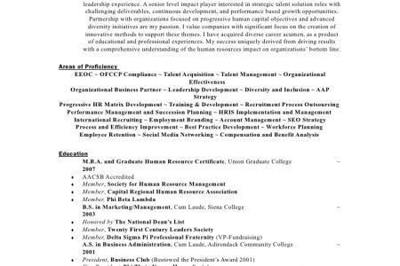 Infantry Resume  Talent Acquisition Resume