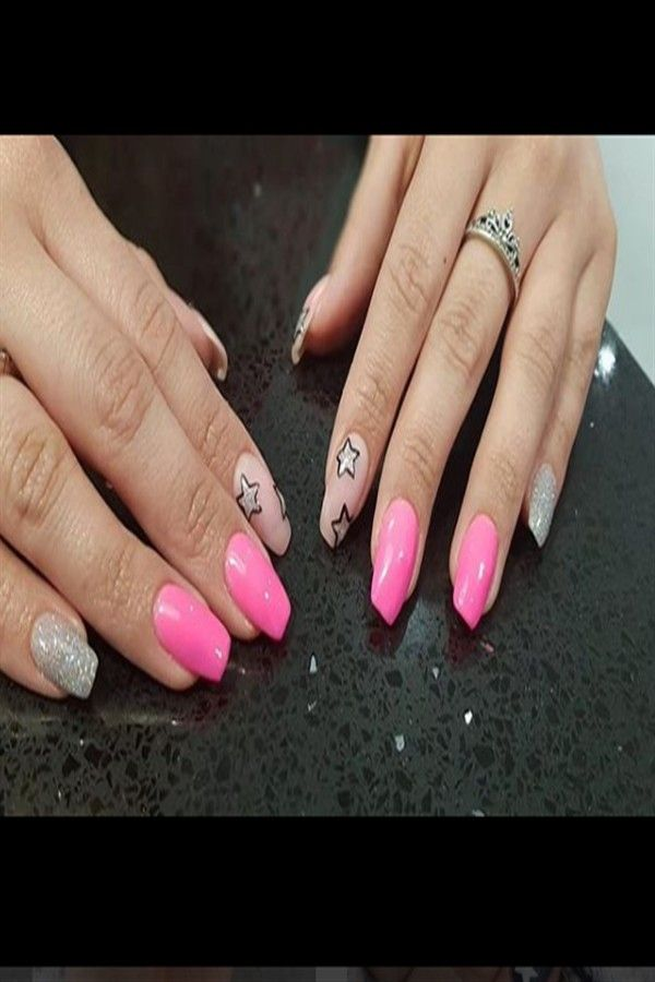 33+ Majestic Stars Nail Art Design Ideas – Fashonails