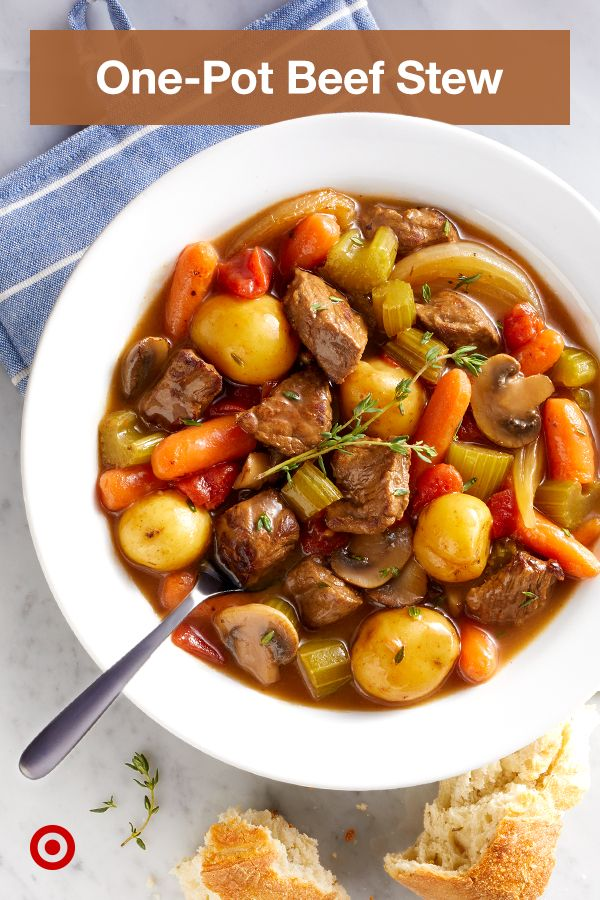 Make dinner prep easy with nutritious & delicious Instant Pot recipes for beef stews & vegetable soups.