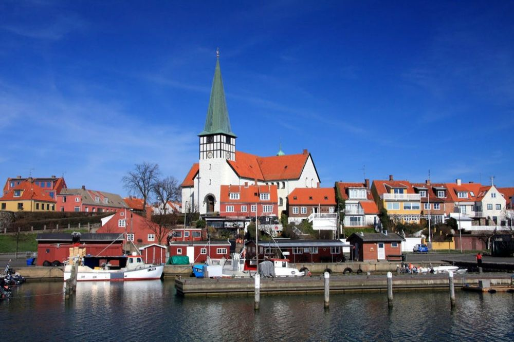 // Danes flock to this dreamydestination to get a much-needed dose of summer.