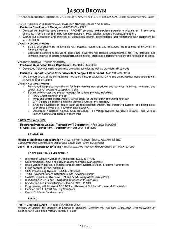 business objects resume sample business objects resume sample information technology resume examples