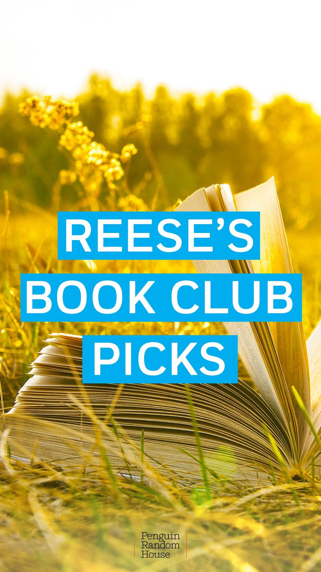 Must read books from Reese Witherspoon's book club! Add these picks from Hello Sunshine to your reading list. #books #bookclub