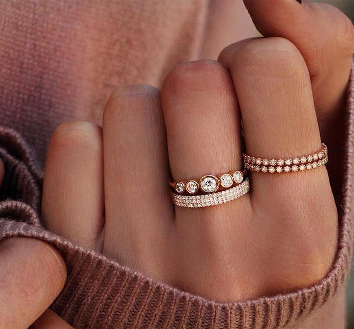 Check out these solitaire diamond rings 9998 #solitairediamondrings