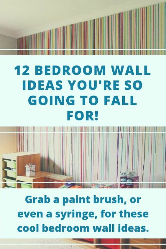 12 DIY Bedroom Wall Ideas You're Going To Love